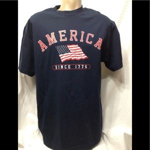 Alstyle Shirts - Men's size Large America tee